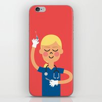 scrubs iPhone & iPod Skins featuring Surgery with a Smile by Mouki K. Butt