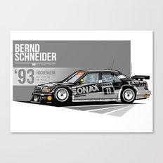 Bernd Schneider - 1993 Hockenheim Canvas Print