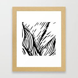 woodcut Framed Art Print