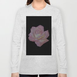 Pink and Yellow Rose Long Sleeve T-shirt