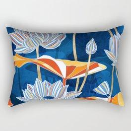 Bold Botanical Rectangular Pillow