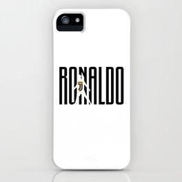 Ronaldo CR7 iPhone Case