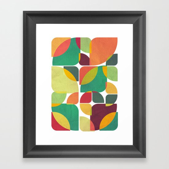 Last days of summer Framed Art Print
