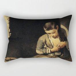 Bartolome Esteban Murillo - The Young Beggar Rectangular Pillow