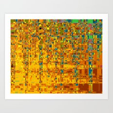 Abstract Klimt Art Print