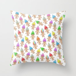 Troll Magic Throw Pillow