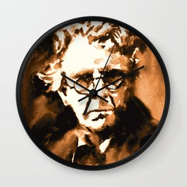 William Butler Yeats Wall Clock