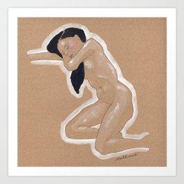 Nude nº3 Art Print