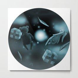 Round Dream Metal Print