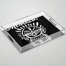 Mestizo Roots Acrylic Tray