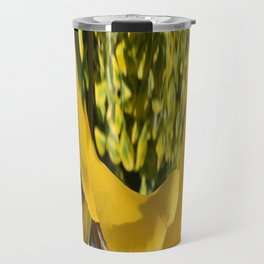 494 -Abstract Flower Design Travel Mug