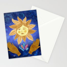 Mystic Sunshine Stationery Cards
