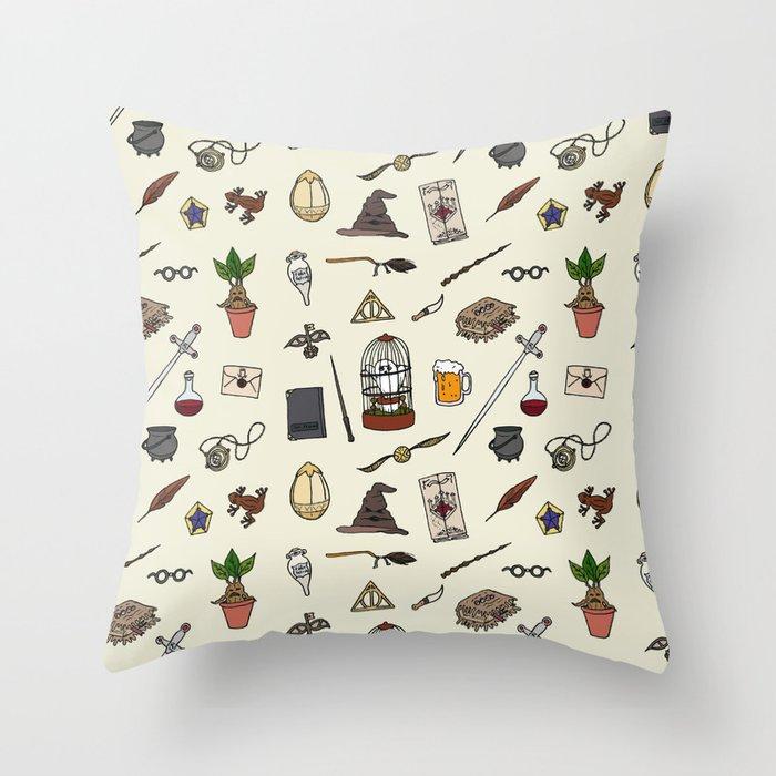 Harry Pattern Throw Pillow