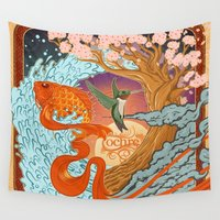 the national Wall Tapestries featuring National Ignition by Nathaniel Reeves