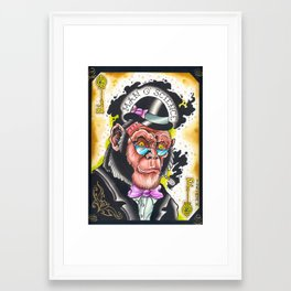 man o' science Framed Art Print