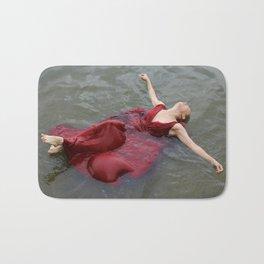 swimming girl Bath Mat