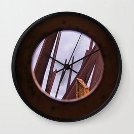 Beam Drop Wall Clock