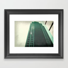 Greeny  Framed Art Print