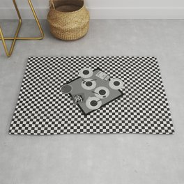 coffee and cigarettes Rug