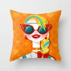 Bitch Please: Sailor Venus Throw Pillow