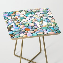 PEBBLES ON THE BEACH Side Table