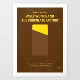 No149 My willy wonka mmp Art Print