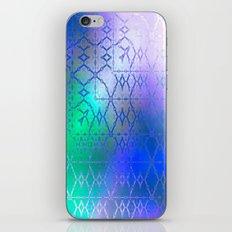 Summer of Retro (blue-green-purple) iPhone & iPod Skin