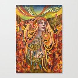 Night Blossom Canvas Print