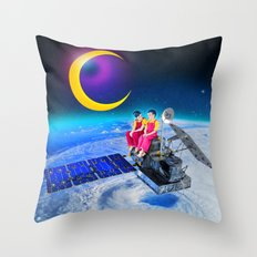 Starstruck Brothers Throw Pillow