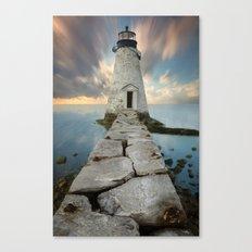 Palmer Island Lighthouse Canvas Print