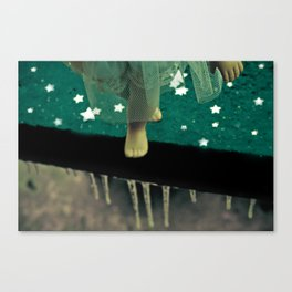 Alice's Escapades ~ Alice Frozen In Time  Canvas Print