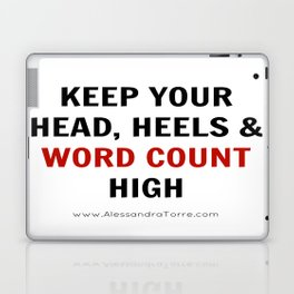 Keep Your Word Count High Laptop & iPad Skin