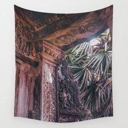 Angkor Wat Jungle Wall Tapestry