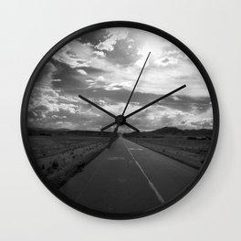 On my Way NO2 Wall Clock