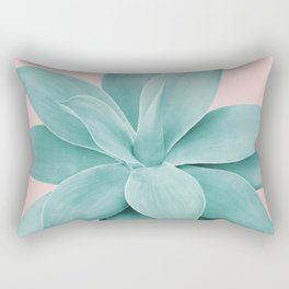 Blush Agave Romance #1 #tropical #decor #art #society6 Rectangular Pillow