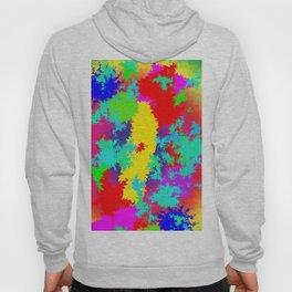 Colourful Random Trippy Pattern Hoody