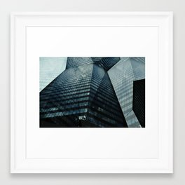 The Towering Skyline Framed Art Print