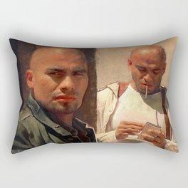 The Salamanca Brothers - The Cousins - Better Call Saul Rectangular Pillow