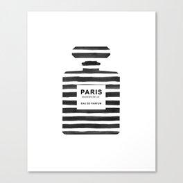 Perfume, Bottle, Fashion, Paris, Modern art, Minimal, Scandinavian, Wall art Print Canvas Print