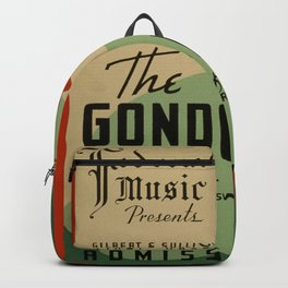Vintage poster - The Gondoliers Backpack
