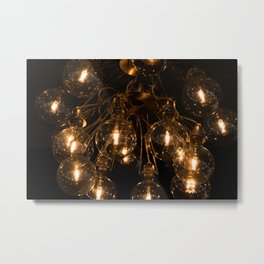 The Lights Metal Print