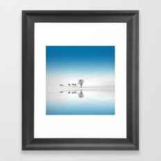 Blue Season Framed Art Print