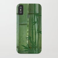 bamboo iPhone & iPod Cases featuring Bamboo by Anne Seltmann