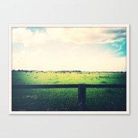 farm Canvas Prints featuring Farm by Bosco