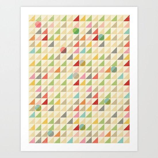 GEOMETRIC 002 Art Print