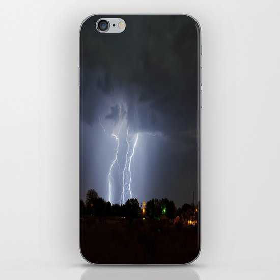 Lightning Triple Play iPhone & iPod Skin