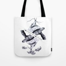 Content in Solitude Tote Bag