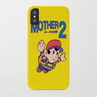earthbound iPhone & iPod Cases featuring Mother 2 / Earthbound / Super Mario Bros. 3 Style by Studio Momo╰༼ ಠ益ಠ ༽