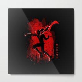 Punch Hero Metal Print