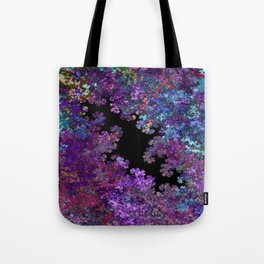 Flora-Purple Tote Bag
